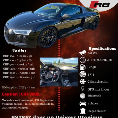 Audi - R8 V10 PLUS FULL CARBON - 2018